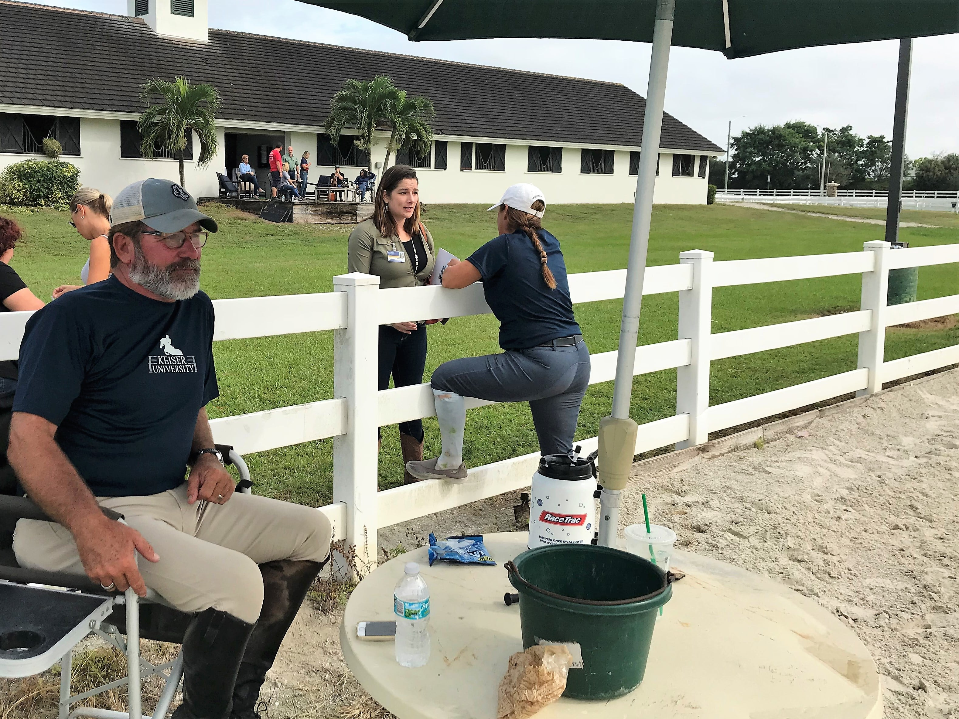 Equestrian Open House Draws Crowd to Hear about New Program