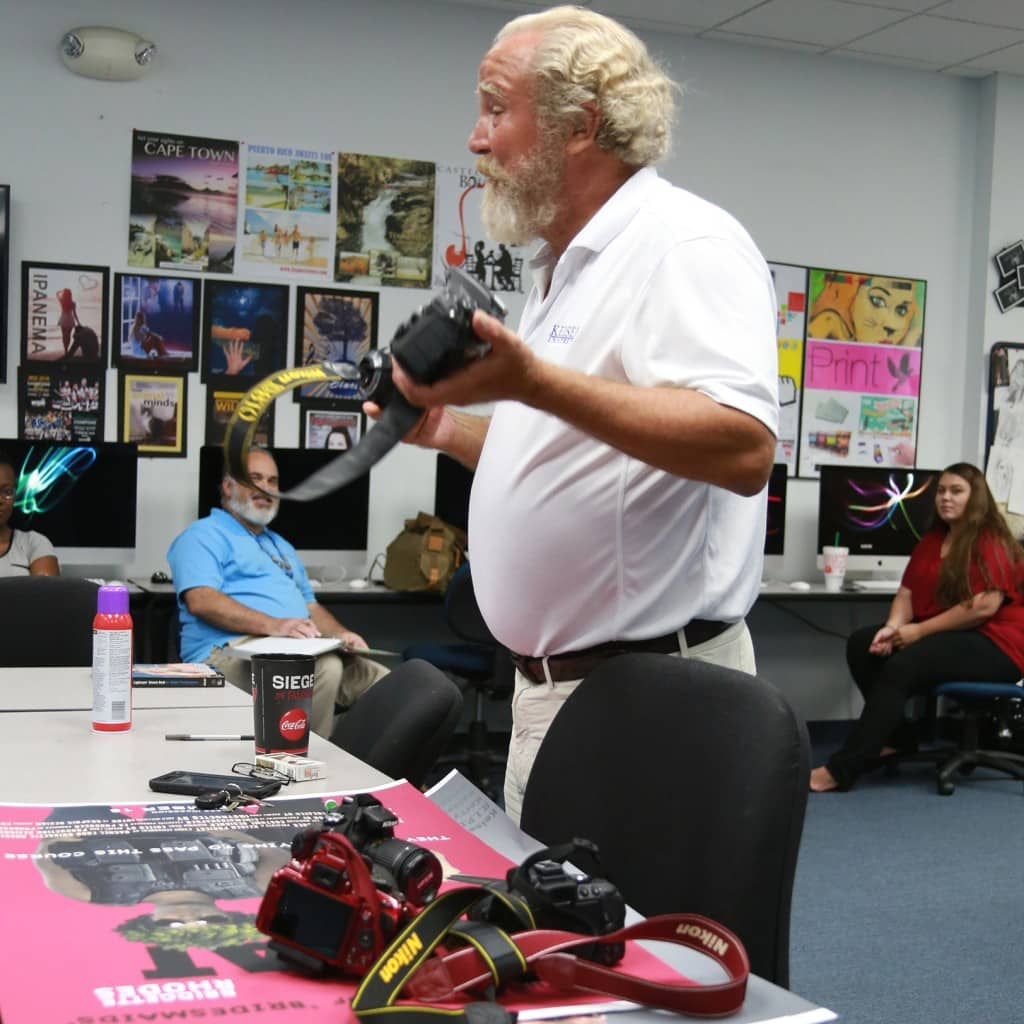 Lakeland Campus' Graphic Arts & Design Program Gets a Whole Lot 'Snappier'