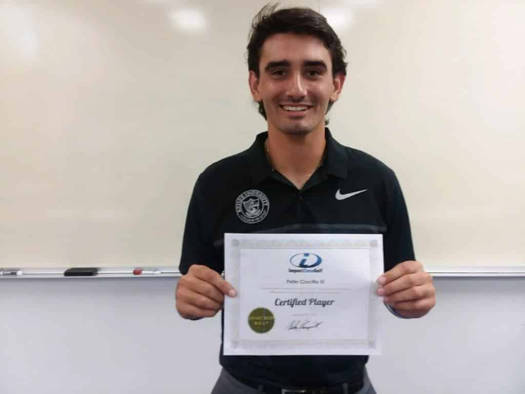Keiser University College of Golf Student Achieves Impact Zone Golf Player Certification