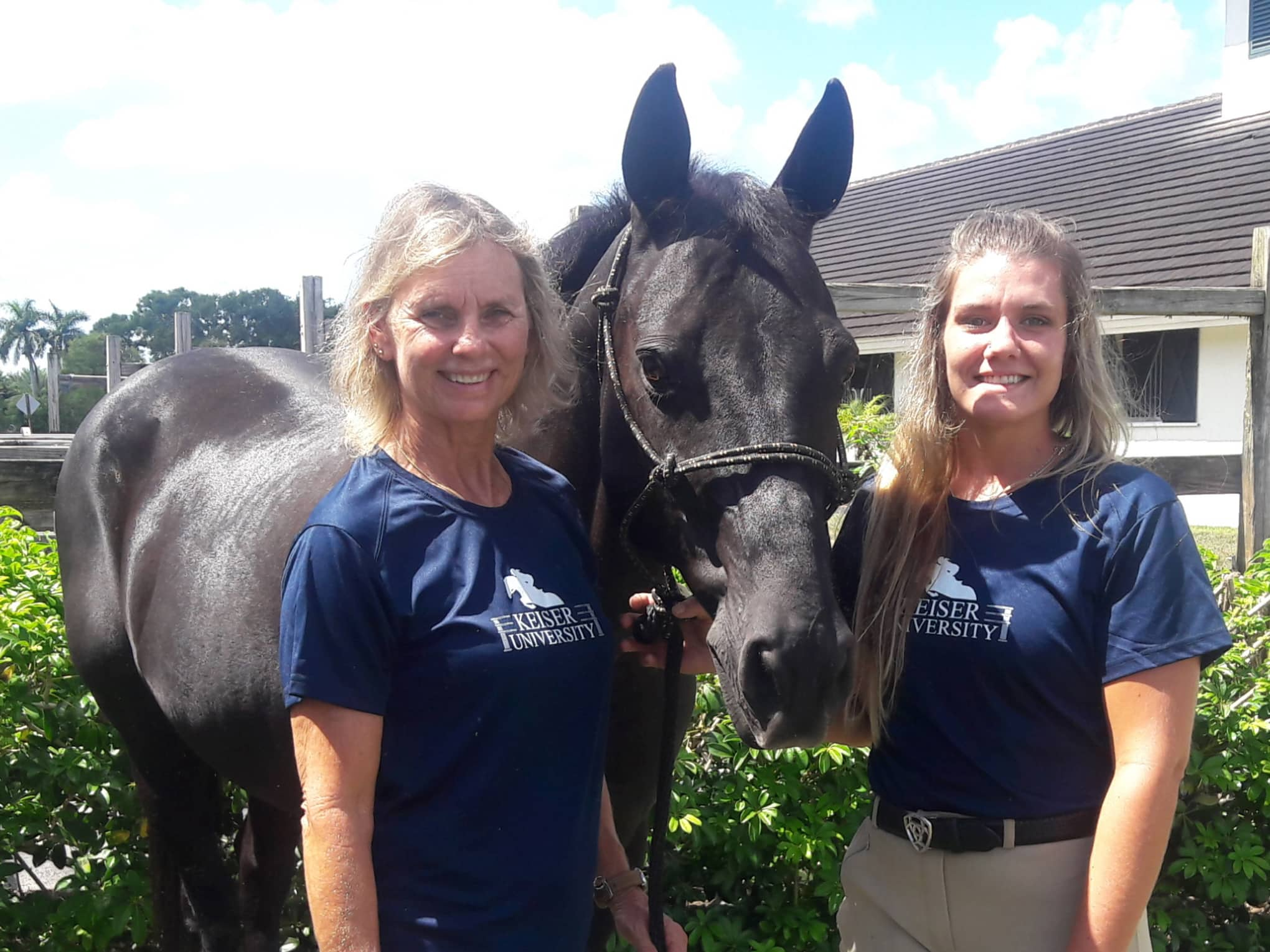 Keiser University Equine Studies Freshman Takes Lifelong Passion to the Next Step