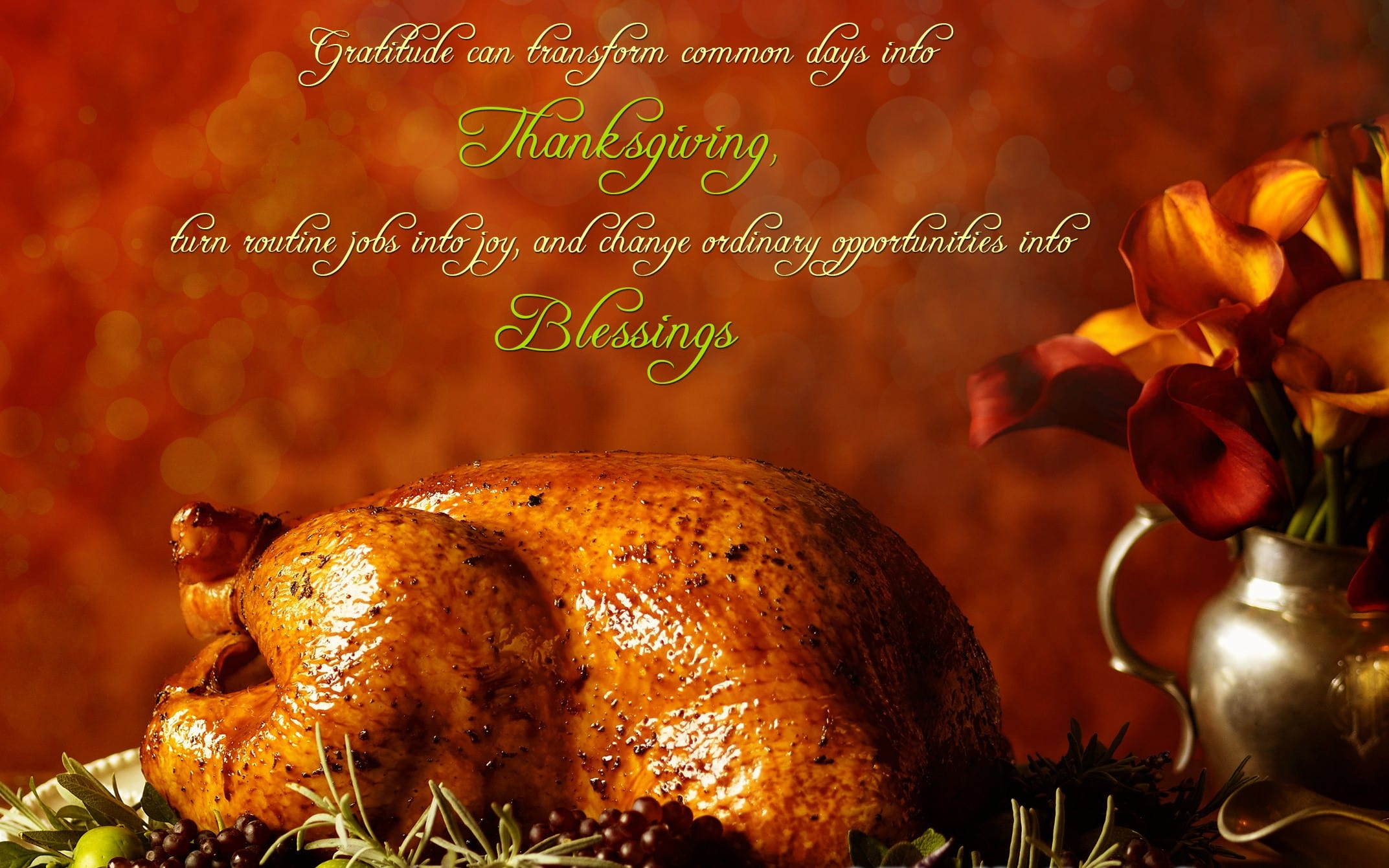 Happy Thanksgiving from your Keiser University Family
