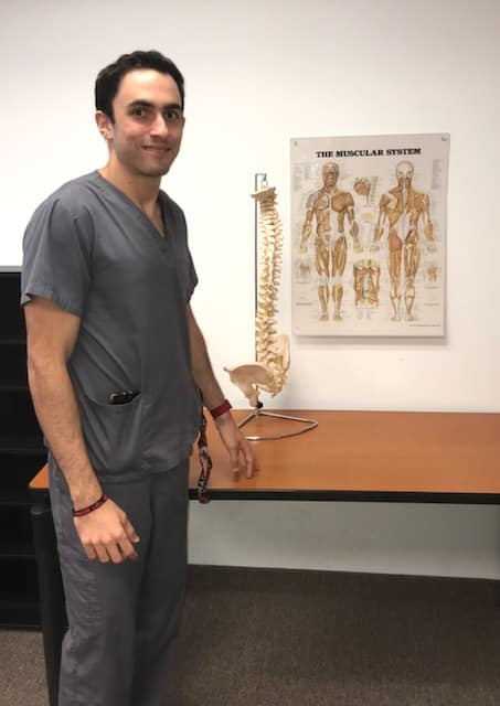 Keiser University Chiropractic Student Applies New Found Knowledge to Assist Athletes