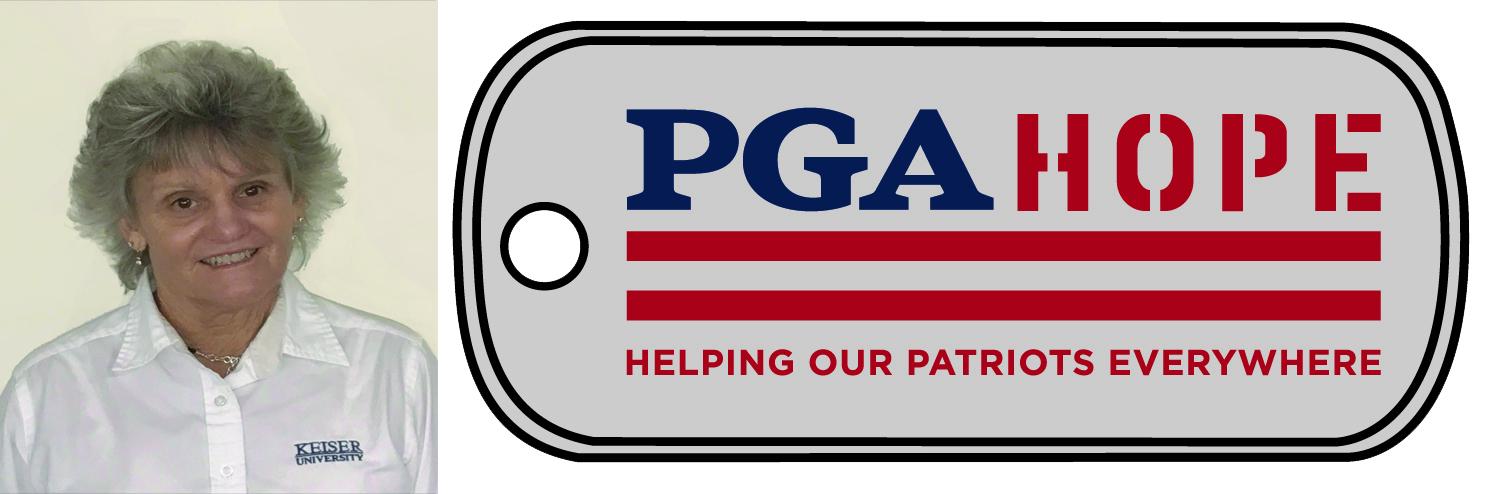 KU College of Golf Supports PGA HOPE