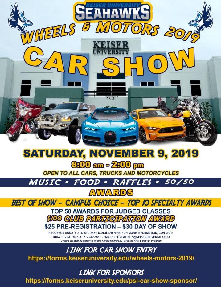 Keiser University Email >> Car Show Keiser University
