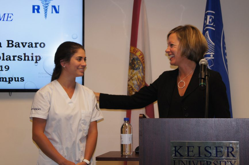 Nurse Appreciation Week Kicks Off at Keiser University