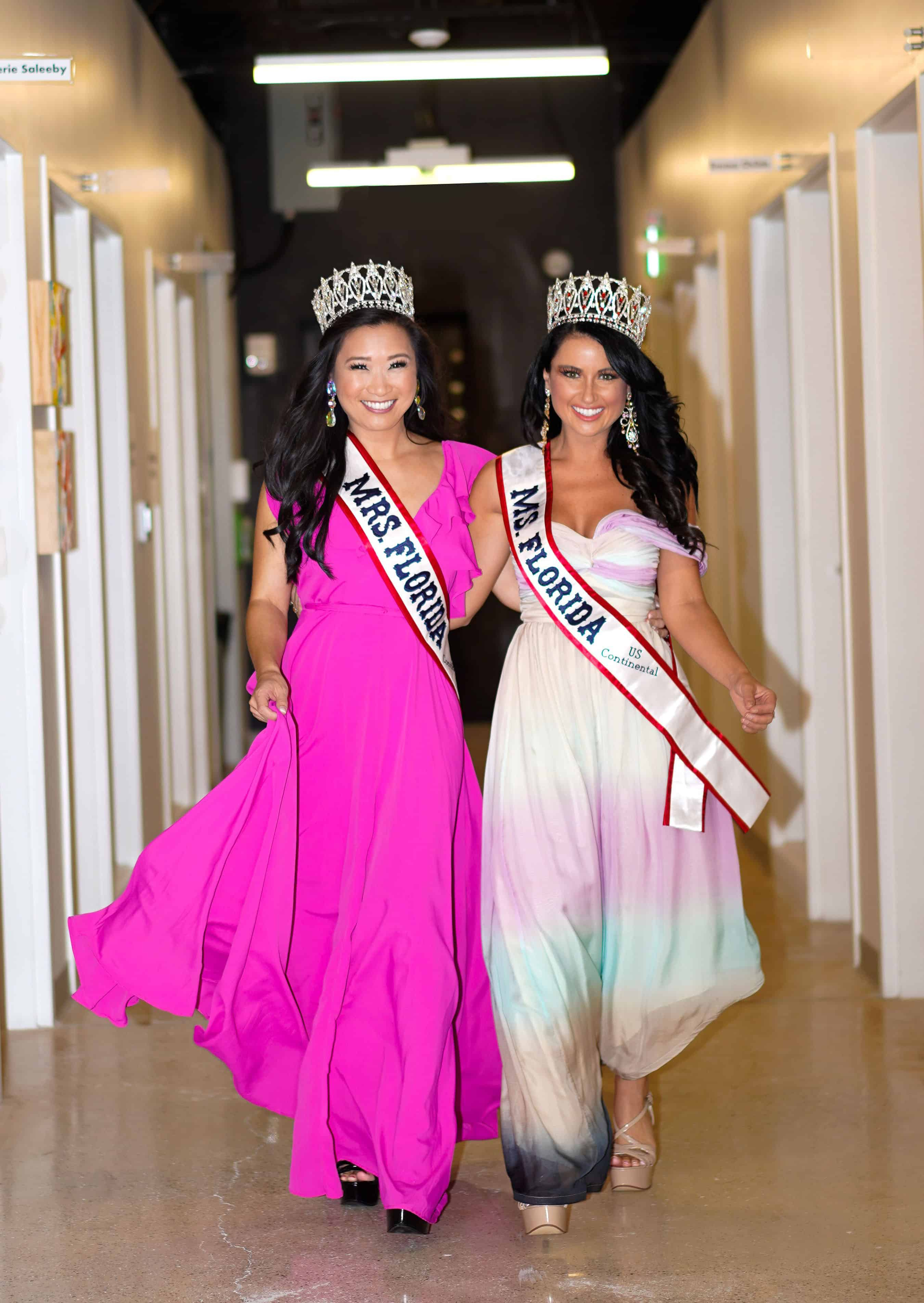 Keiser University Congratulates Alumna and Spirit Team Coach for Recent Pageant Titles
