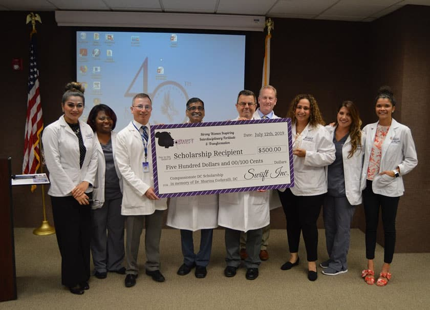 Keiser University Students Receive 'Compassionate Doctor of Chiropractic Award'