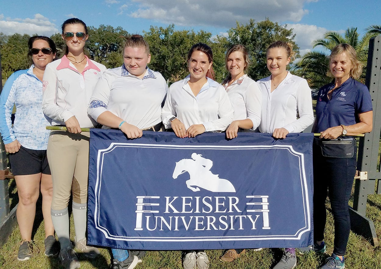 Keiser Equestrian Students Enjoy Intercollegiate Horse Show Competition