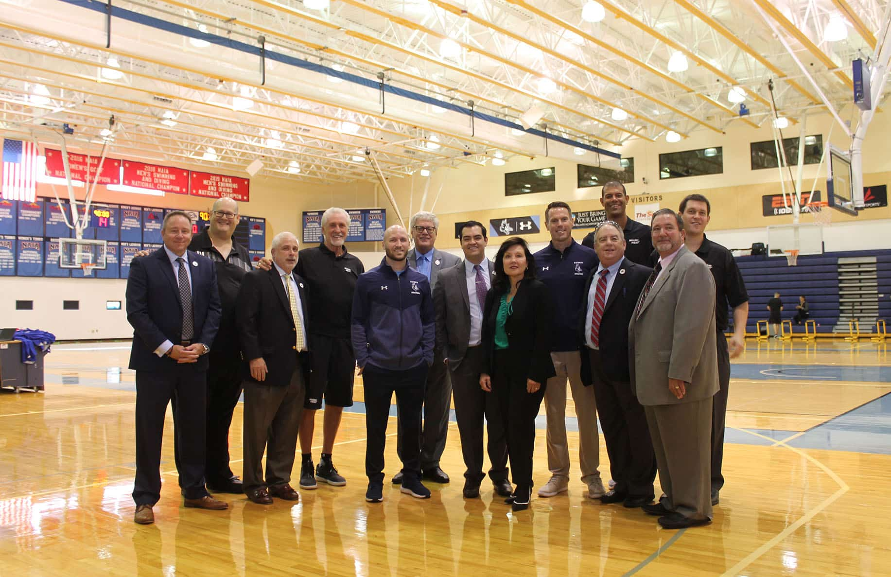 Keiser University Hosts the Miami Heat