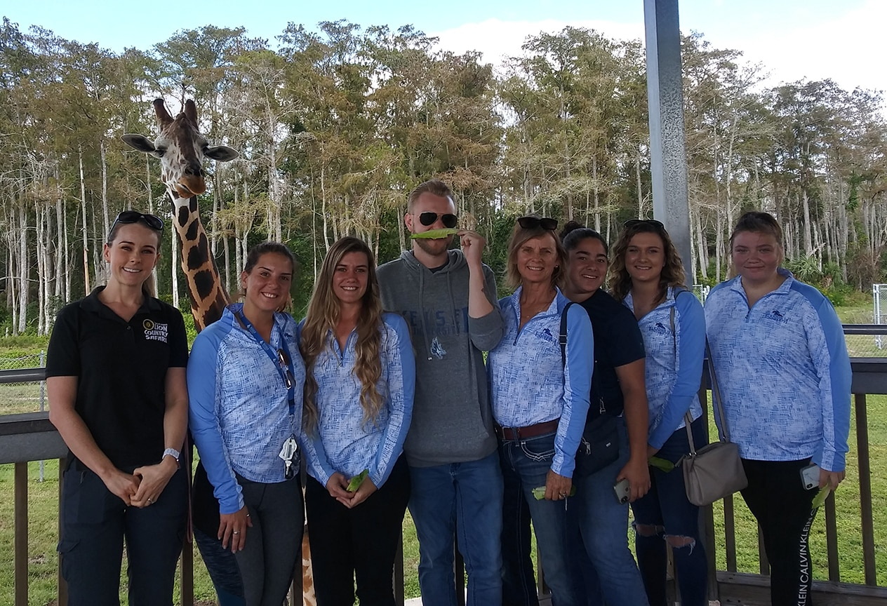 Keiser University Equestrian Students Enjoy Safari Adventure