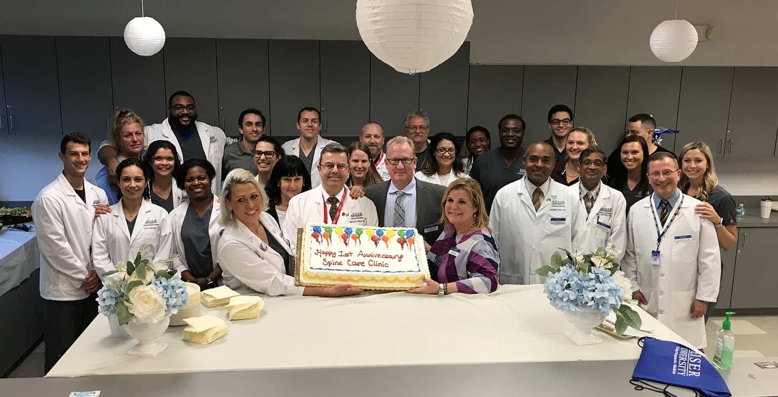 Keiser University Spine Care Clinic Celebrates First Anniversary with Open House Program