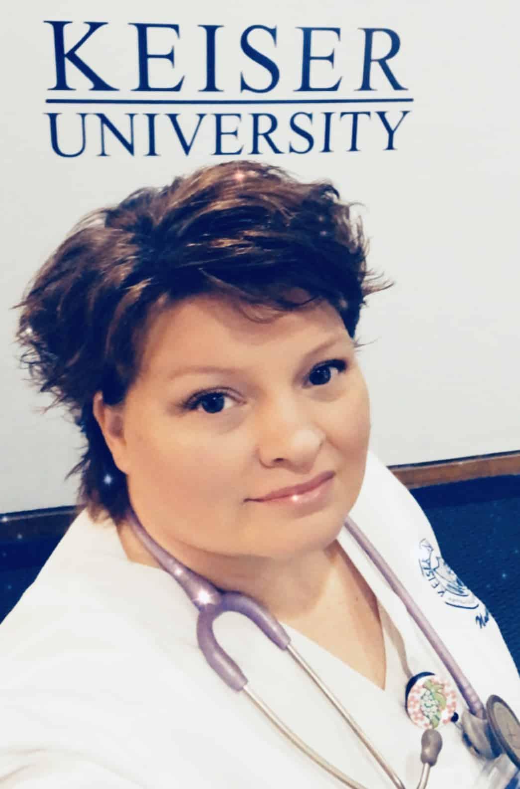 Keiser University Nursing Students is Awarded Endowed Scholarship