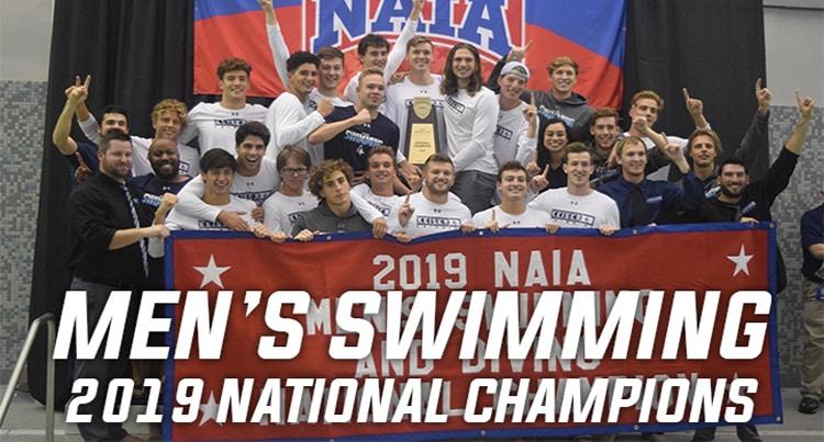 Keiser University Swim Team Claims National Championship