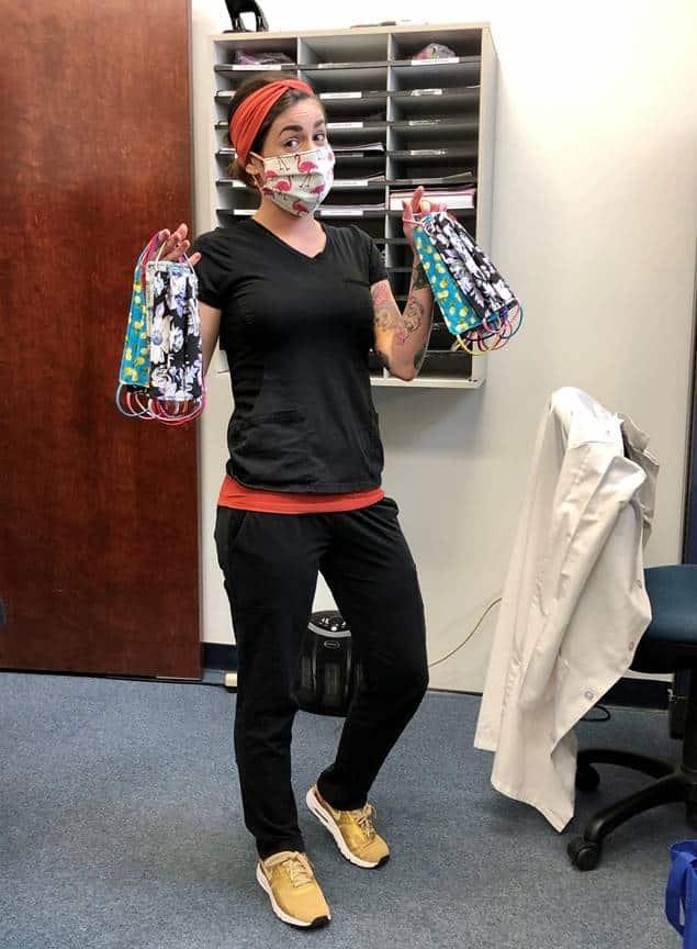 Keiser University Professor Sews Masks for Healthcare Professionals