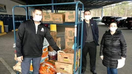 Keiser University Student Organizes Hometown Food Drive, Mask Give-Away for Healthcare Providers