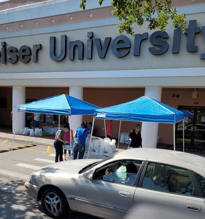 Keiser University's Orlando Campus Distributes Hope During Health Crisis