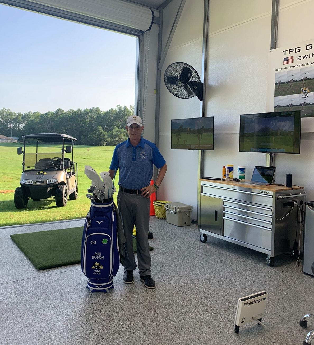 Veteran and Keiser University Graduate Leads Golf Performance Center
