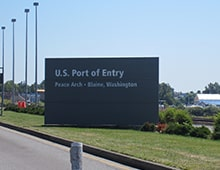 Arriving at U.S. Port of Entry