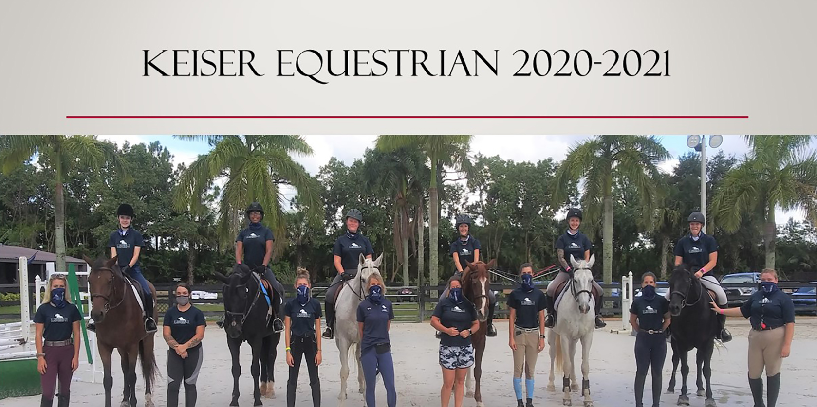 Keiser University Equestrian Students Prepare for an Exciting Year