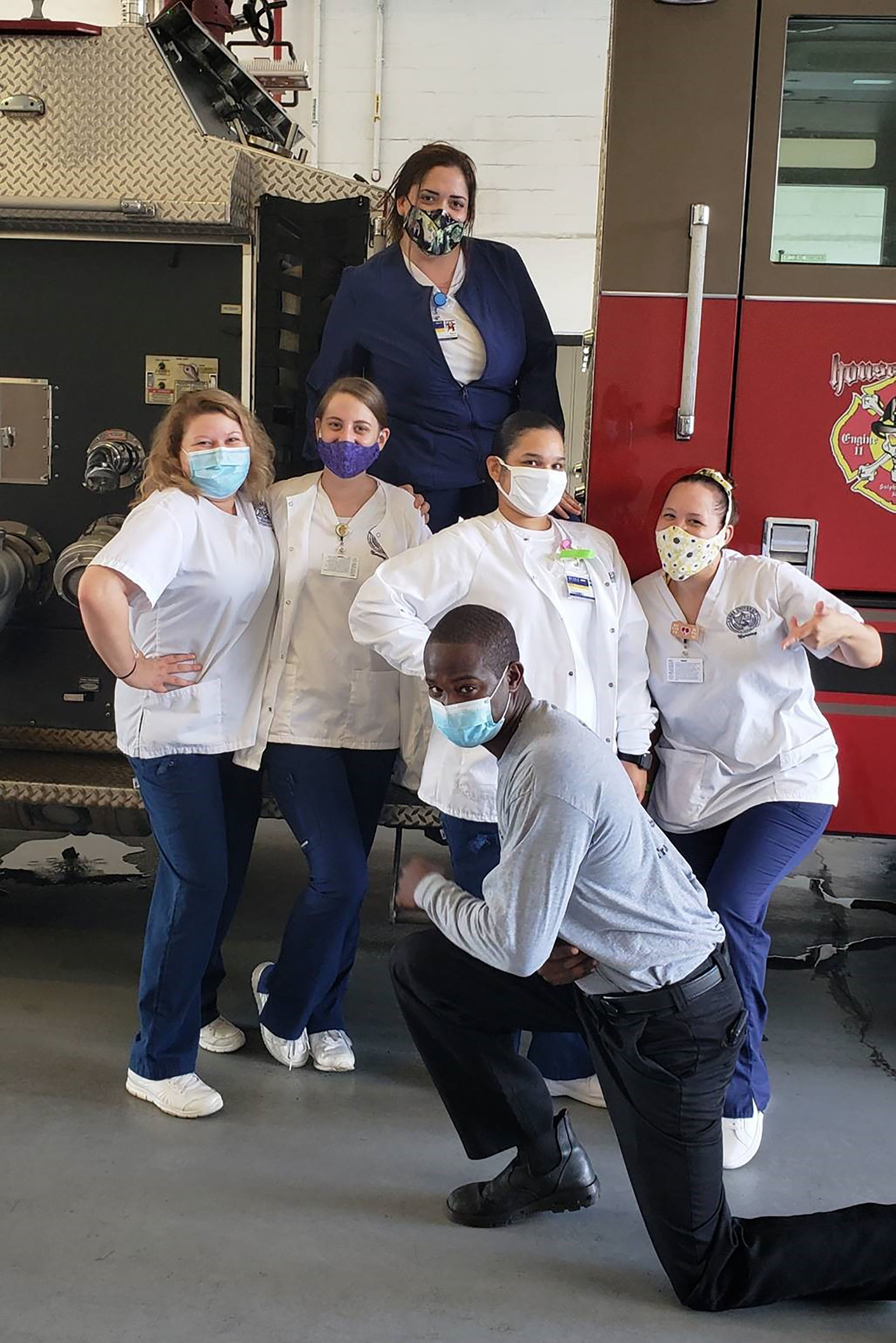 First Responders Thank Keiser University Student Nurses for Ongoing Support
