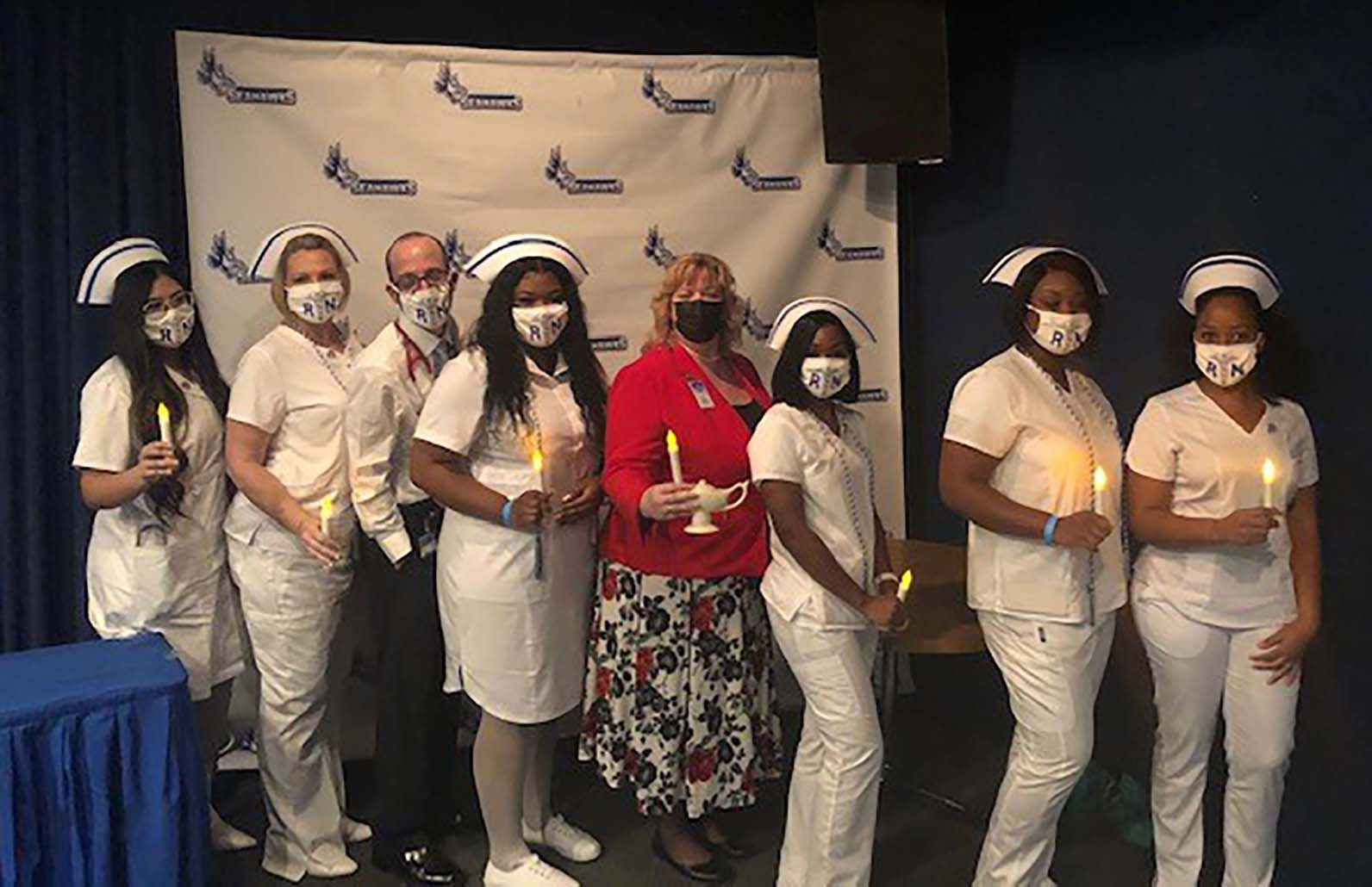 Pinning Ceremony Holds Special Meaning During Pandemic for Keiser University Nursing Graduates