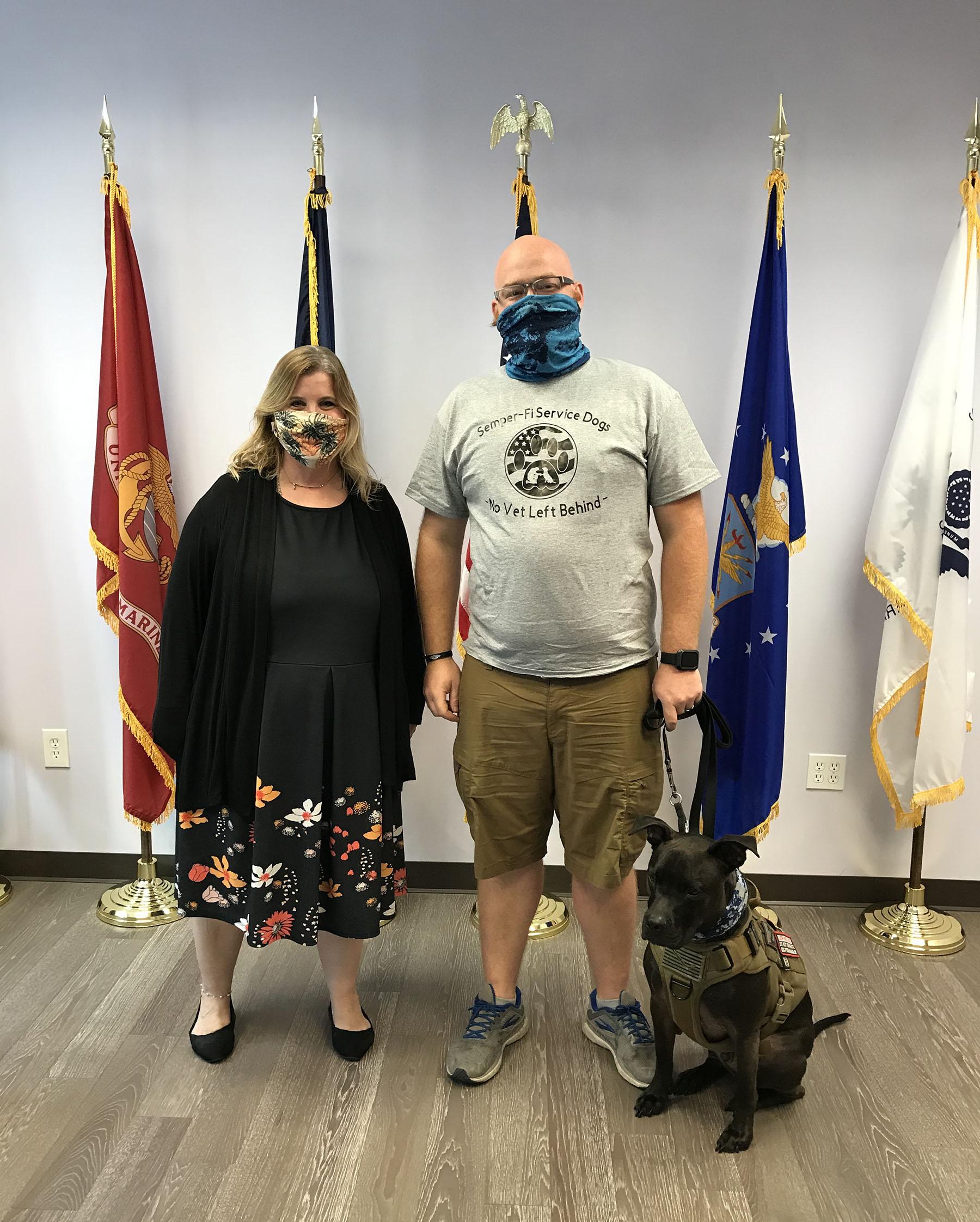 Keiser University SVA President Helps Lead Service Dog Organization