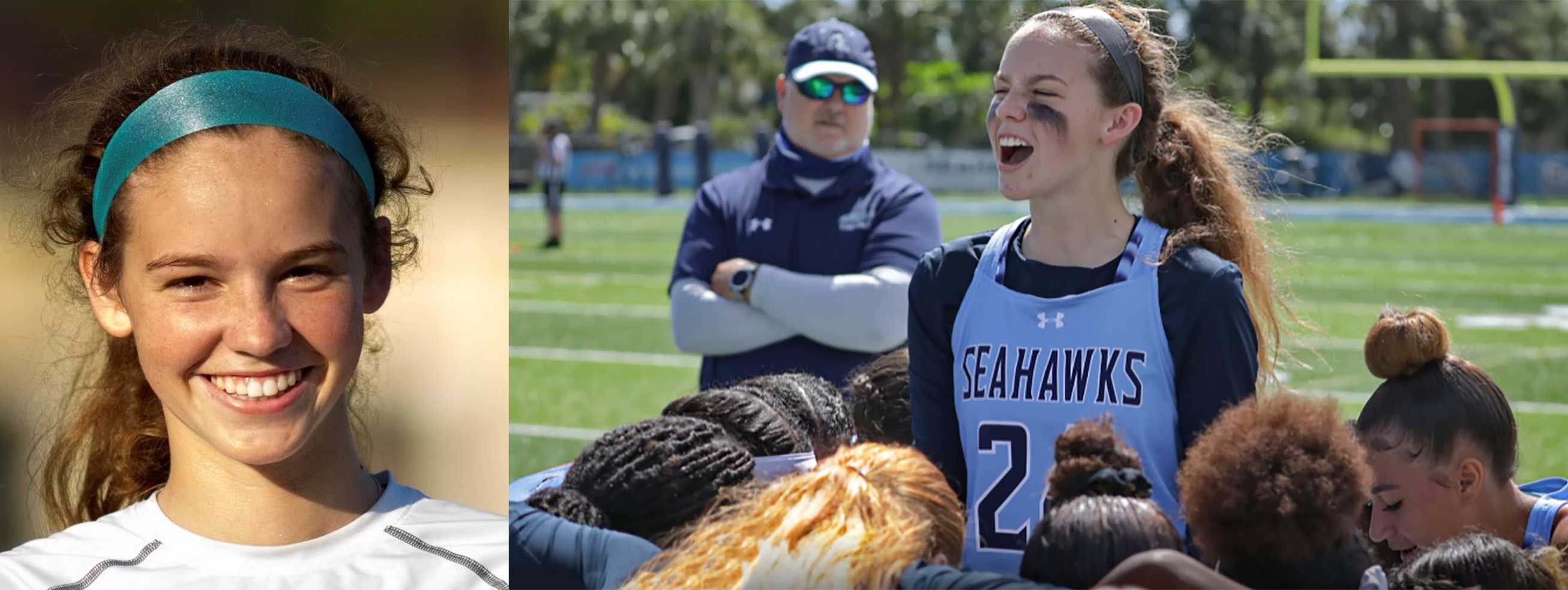 Keiser Flag Football Player is Thankful for Lessons, Both On and Off of the Field