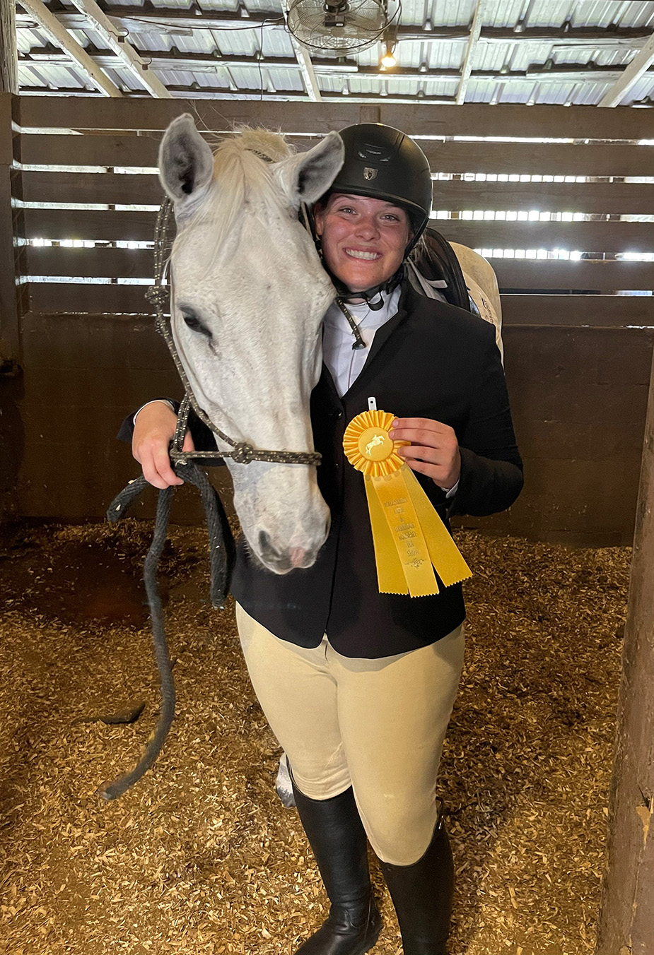 Student Sets Sights on a Career in Equestrian Care
