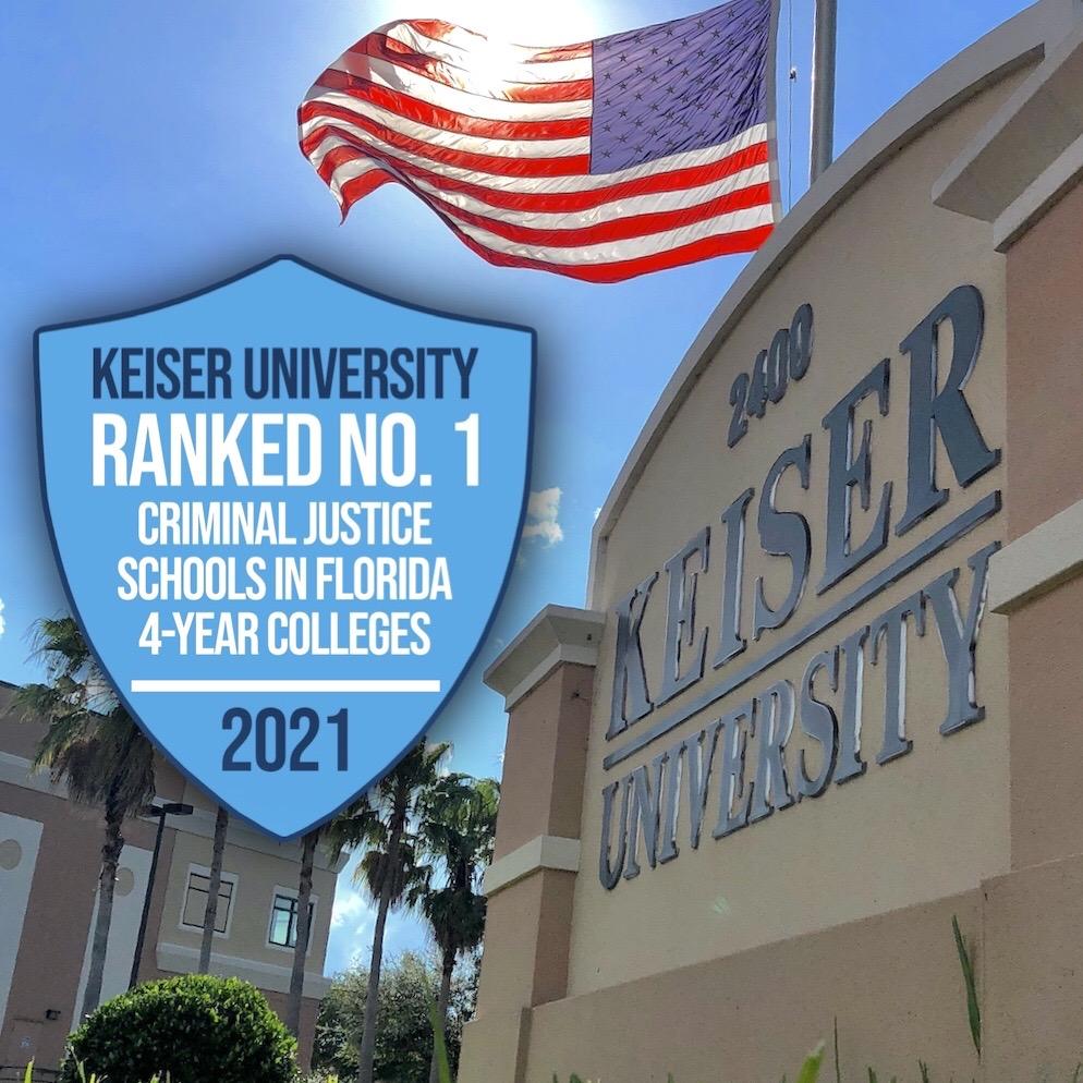Keiser University Criminal Justice Program Ranks Best in Florida