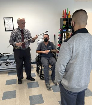 Keiser University Physical Therapy and Chiropractic Student Enjoy Collaborating